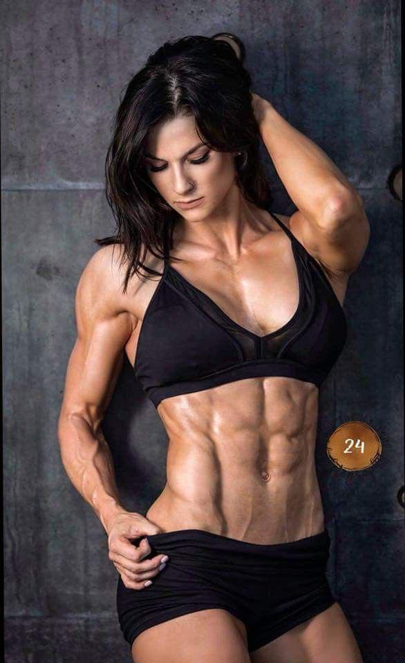 Women With Abs Porn photo 30