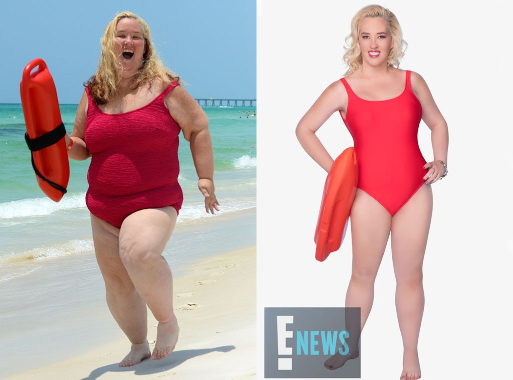 Mama June Red Bathing Suit photo 15
